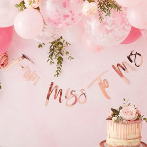 banner from miss to mrs