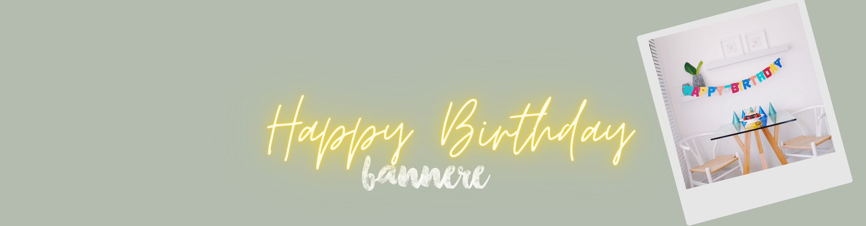bannere happy birthday